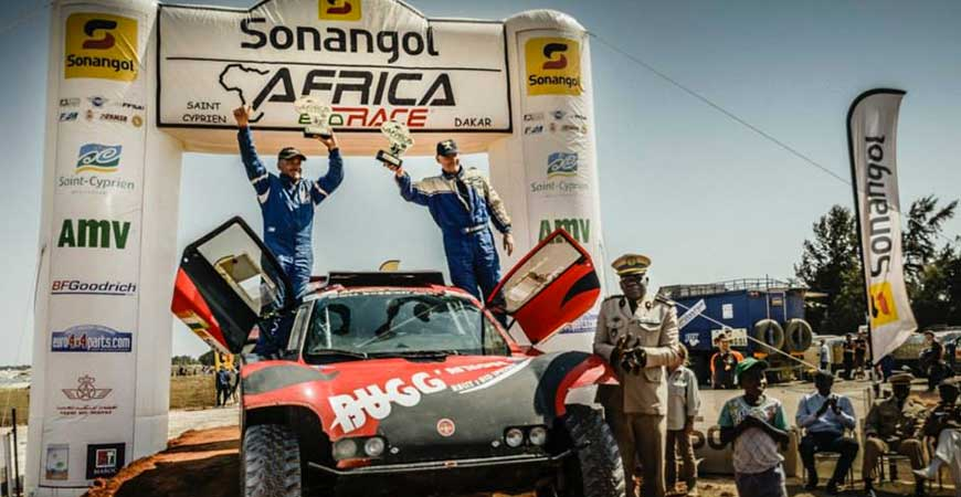 Bugg'Afrique Africa Eco race 2014